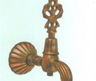 Кран для турецкой бани бронзового цвета