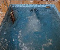 Монтаж бассейна с противотоком, проект выполнен в Екатеринбурге