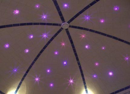 Потолок в хаммаме